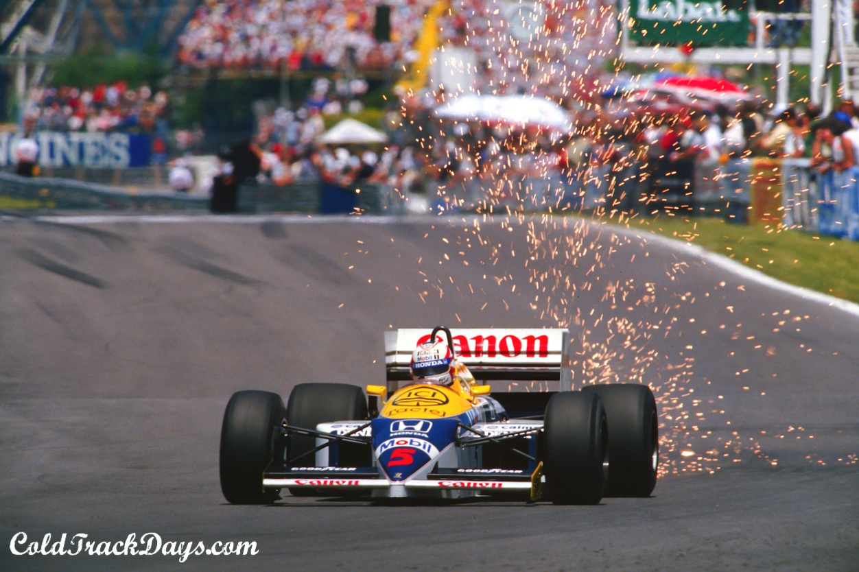 EYE CANDY // MANSELL @ 1986 CANADIAN GRAND PRIX