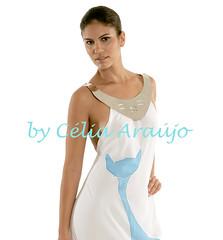 Vestido em crepe pintado  mo 1 (Clia Arajo) Tags: feitomo estilo seda ponchos shibori capas saias encomenda echarpes exclusividade itajime arachi lmerino lenas