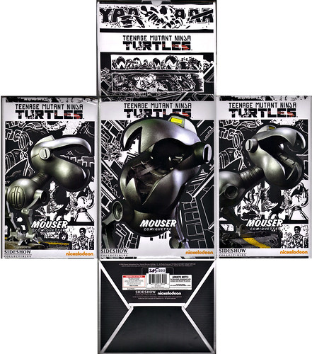 "Sideshow Collectibles :: ""Teenage Mutant Ninja Turtles"" SDCC Exclusive 'Mouser' Comiquette #205 of 250 // .. box i (( 2010 ))"