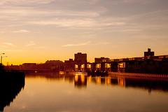 Asbury Park Sunset (nosha) Tags: new sunset sea lake beautiful beauty newjersey asburypark nj shore jersey asbury jerseyshore lightroom nosha