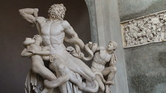 The Laocoon and His Sons著名的雕像《拉奥孔和他的儿子们》Vatican Museum梵蒂冈博物馆DSC00655
