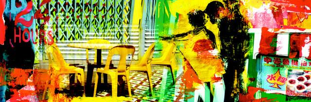 Yellow Chairs by Patricia Cabaleiro de Meuser & Britta Hagemann