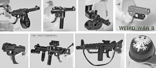 WEIRD WAR II weapon prototypes