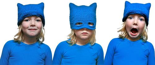free knitting pattern: zsa mask
