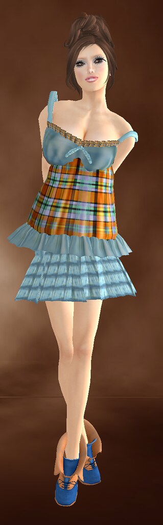 *Les Petits Details* *LPD* Skins - Marie Gray + *LPD* - *Little Butterfly* Dress  - *Le Parisien* Shoes not free
