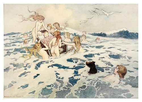 015-The water-babies a fairy tale for land-baby 1909-ilustrado por  Warwick Goble