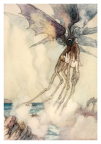 019-The water-babies a fairy tale for land-baby 1909-ilustrado por  Warwick Goble