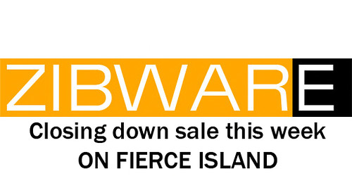 ZIBWARE CLOSING DOWN SALE