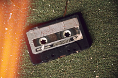 ac dc (yyellowbird) Tags: house abandoned acdc lights tape cassette shshshshakyhands