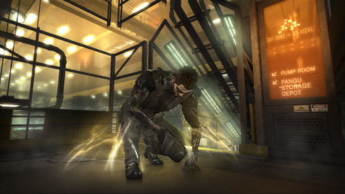 "Deus Ex: Human Revolution - ""The Icarus"" screenshot"