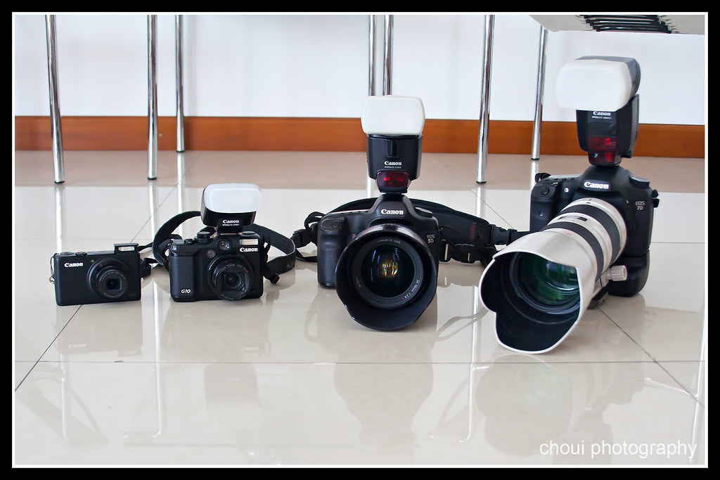 I love Canon in all sizes!