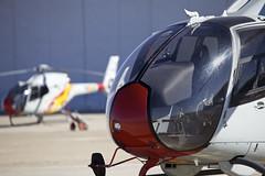 Red Nose (Alvaro Aviation) Tags: closeup spain granada helicopters familyday eurocopter armilla militaryaviation colibri helos eda helicopteros ec120 ejercitodelaire patrullaaspa ef100400mmf4556lisusm ala78 canon5dmarkii