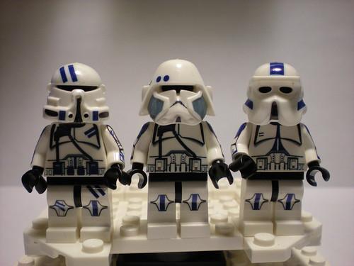 Lego custom Batallion 501st