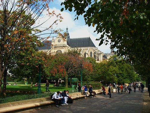 St-Eustache, walkable Paris (c2010 FK Benfield)