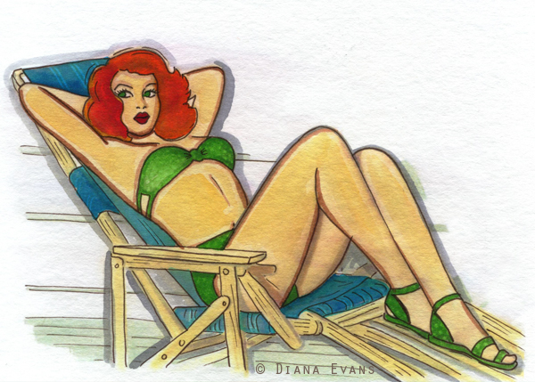 Another 50's fan art piece....