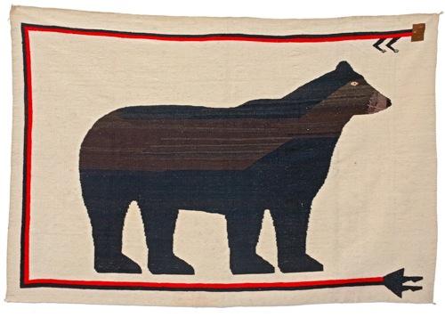 Navajo_Rug_Bear_hillgallery