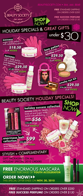 Beauty S. Holiday Sale '10