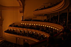 Inside Carnegie Hall