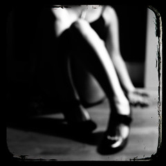50ft Queenie (::fotorosso::) Tags: light blackandwhite bw woman selfportrait me girl contrast self dark square pumps darkness legs sleep tired soul heels isolation sensuality blanc nero maryjane pjharvey exhausted nosleep nofocus ridofme totw 525oftwentyten 525of2010 themethebody