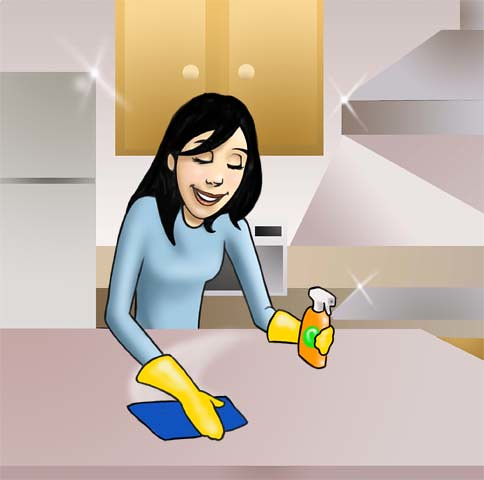 cleaning-kitchen