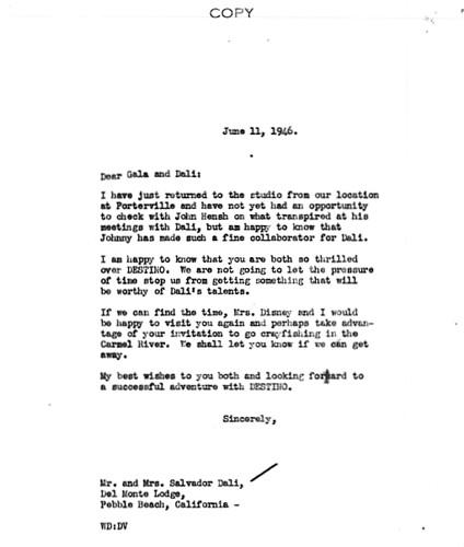 Walt Disney, Salvador Dali & 'Destino' (4)