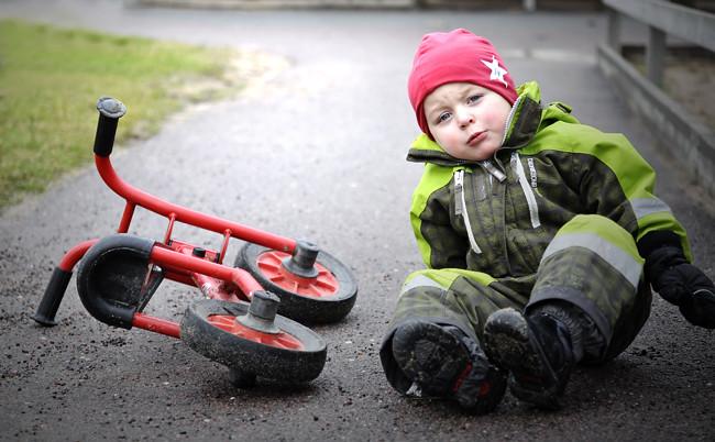 dumma cykel!