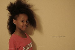 Crazy Hair photo shoot