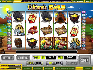 California Gold slot game online review