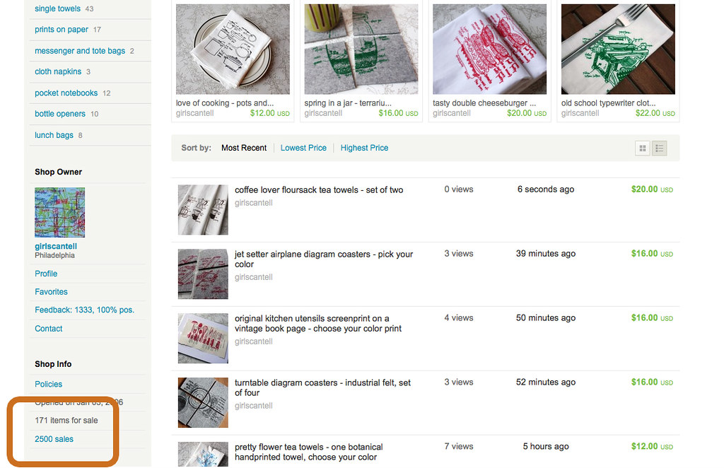 2500 (on etsy) sales!