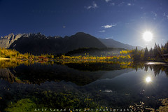 15 mm.... (M Atif Saeed) Tags: pakistan mountain lake mountains nature water landscape explore areas northern northernareas frontpage atifsaeed gettyimagespakistanq1