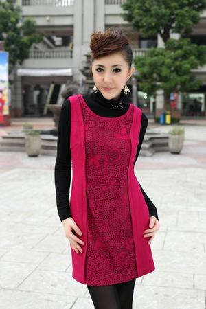21430 Temperament Cheap Priced Korean dresses wholesale www.koreanjapanclothing.com