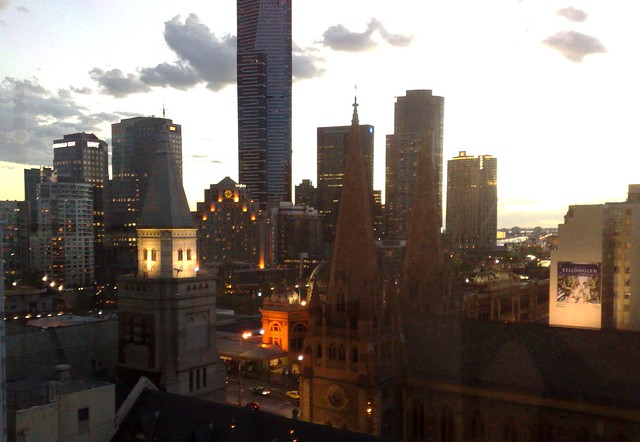 Sunset over Melbourne (1/2)