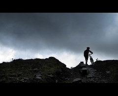 Lee Quarry (Christopher Terry Photography) Tags: clouds cycling bikes riding pete mountainbiking rider leequarry