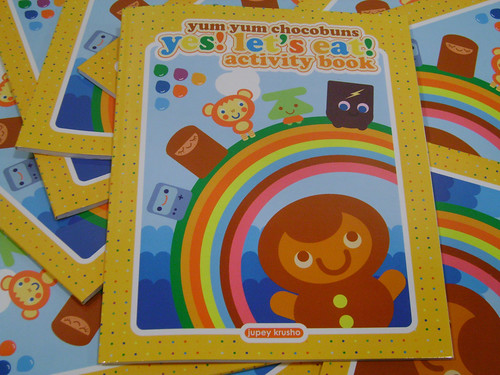 Yum Yum Chocobuns Activity Book