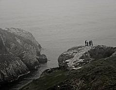 PB160004 (Tulay Emekli) Tags: sea fog turkey rocks foggy tinypeople ava hugerocks kilimli kilimlitepesi