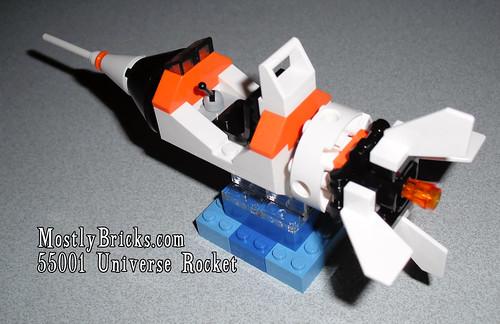 LEGO Universe 55001 Rocket Review