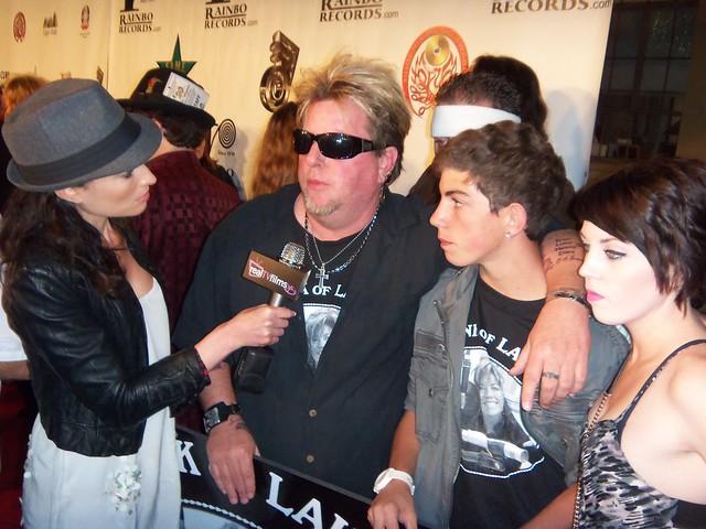 Samantha Gutstadt, Joe Finley, LA Music Awards 2010
