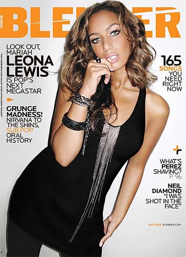 Leona Lewis Blender Magazine Cover - July 2008-thumb