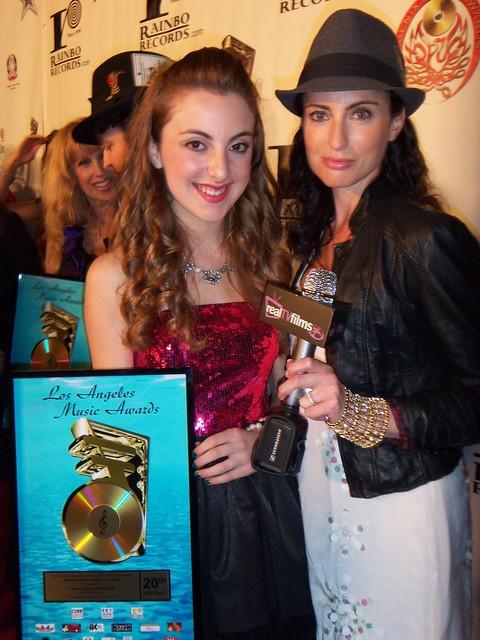 Juliette Goglia, Samantha Gutstadt, LA Music Awards 2010