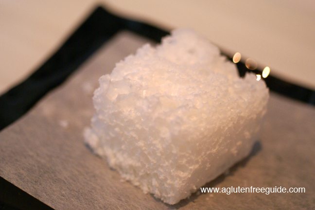 Coconut Sponge at El Bulli Restaurant Menu (24)