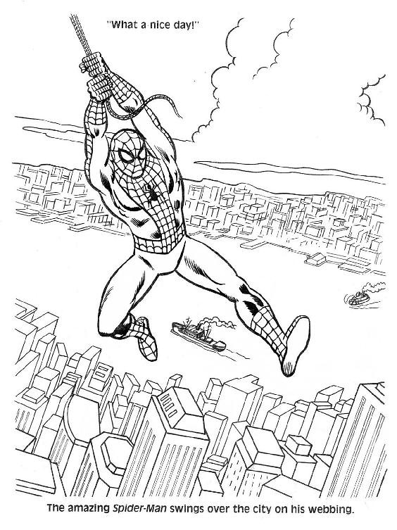 Spider-Man Unmasked! Coloring Book003
