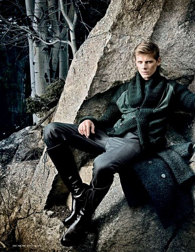 Tyler Riggs & Stan Jouk for GQ Russia Dec 2010 by Gulliver Theis