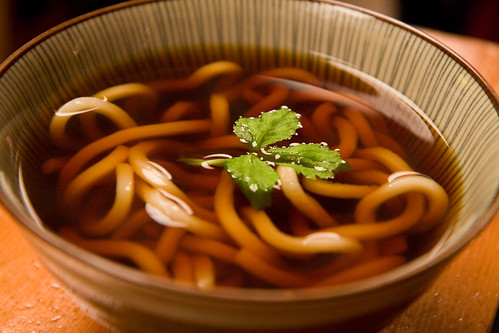 Udon noodles, Soba-ya