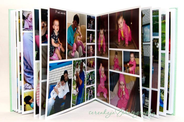 Фотокнига Камилла 1 годик