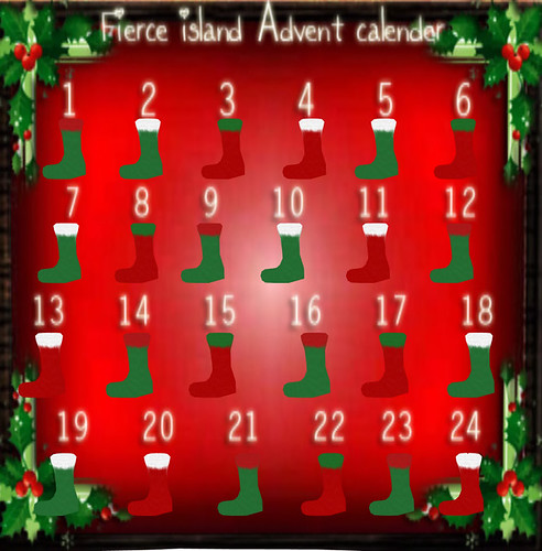 Fierce Island Advent Calender 2010