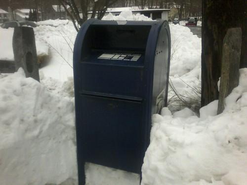 Snowed-in Mailbox