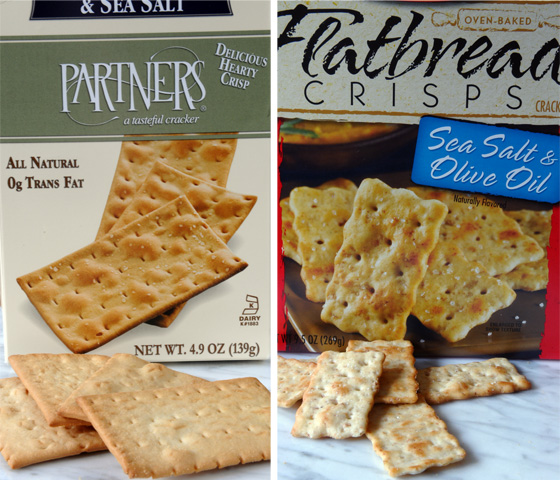 crackers for pizza dip