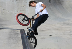 Dude. Where is your helmet? (chearn73) Tags: bmx skatepark canada winnipeg canadaday canada150 manitoba sports action actionshot