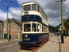 Leeds 345 (TC60054) Tags: crich tramway village national museum derbyshire leeds trams tram preserved tms