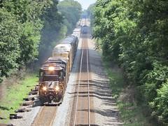 Norfolk Southern Chicago Line / MP460 West (codeeightythree) Tags: norfolksouthernchicagoline norfolksouthernrailroad norfolksouthern rollingprairieindiana rollingprairie railroad freighttrains freighttrain transportation standardcab